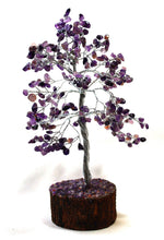Load image into Gallery viewer, Amethyst Natural Crystal Stones Wire Wrapped Gemstone Healing Tree