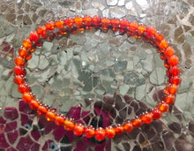 Load image into Gallery viewer, New! Natural Carnelian Crystal Stone Chips Bracelet Luxury Gift Boxed