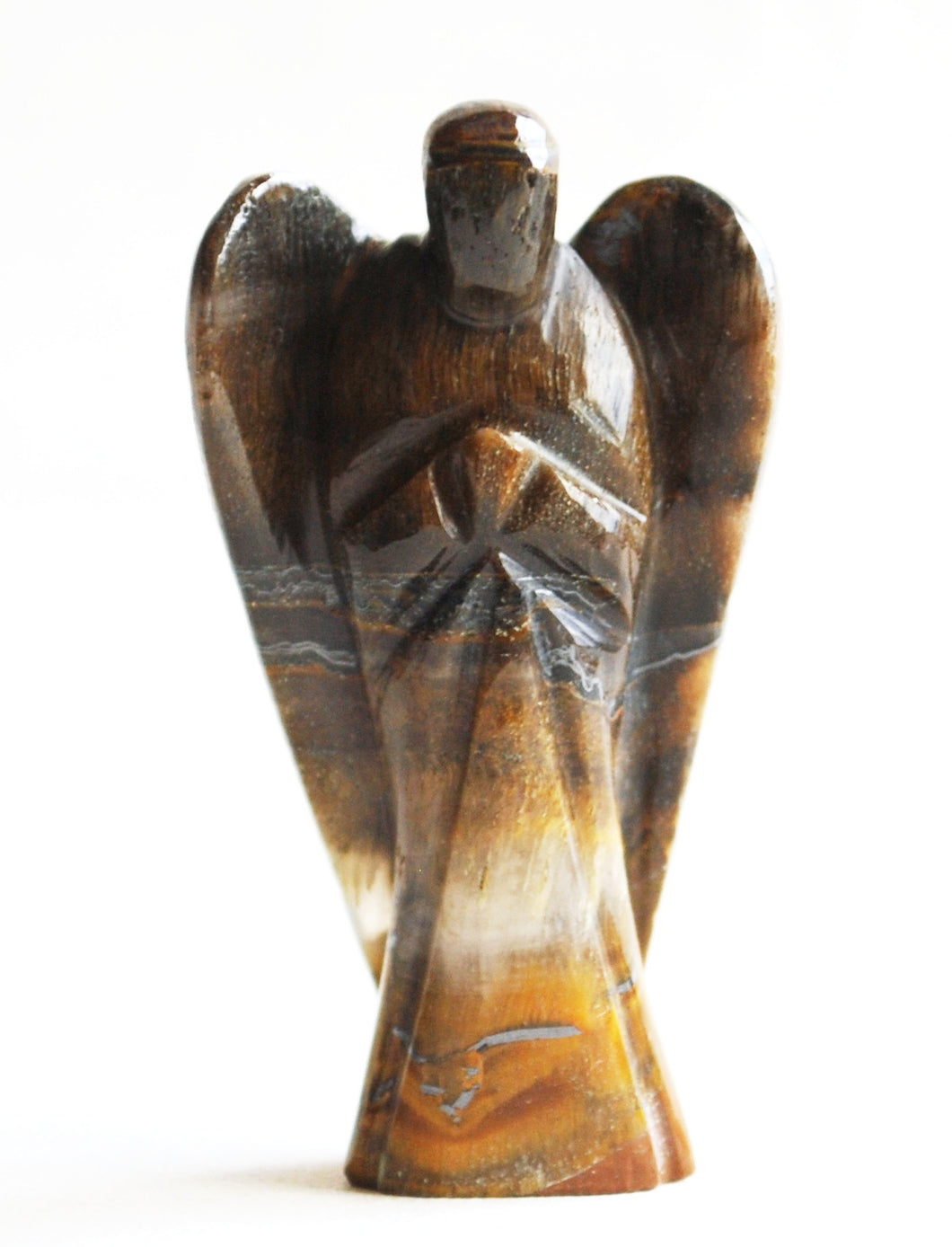 Tigers Eye Crystal Healing Angel - Krystal Gifts UK