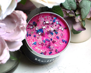 New! 'Zesty Bloom' Luxury Candle Fragranced with Bergamot, Lychee, Mandarin, Caramel & Vanilla