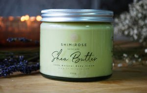 New! Shea Butter 100% Natural Body Cream 250g