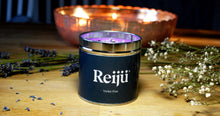 Load image into Gallery viewer, New! 'Violet Fizz' Purple Luxury Candle Fragranced with Cassis, May Rose, Lily and Vanilla
