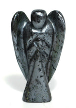 Load image into Gallery viewer, New! Hematite Natural Crystal Polished Gemstone Angel Figure