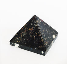 Load image into Gallery viewer, Black Tourmaline Crystal Orgone Pyramid - Krystal Gifts UK