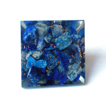 Load image into Gallery viewer, Lapis Lazuli Crystal Orgone Pyramid