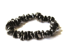 Load image into Gallery viewer, New! Shungite Natural 'Protection' Chunky Crystal Stone Bracelet