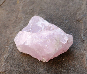 Rose Quartz Natural Raw Crystal Stone Piece