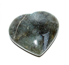 Load image into Gallery viewer, Large Labradorite Natural Crystal Unique Stone Heart Fully Polished