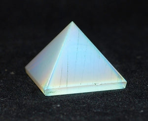 Reiki Healing Energy Charged Crystal Stone Pyramid (Flawed Seconds) TO CLEAR!