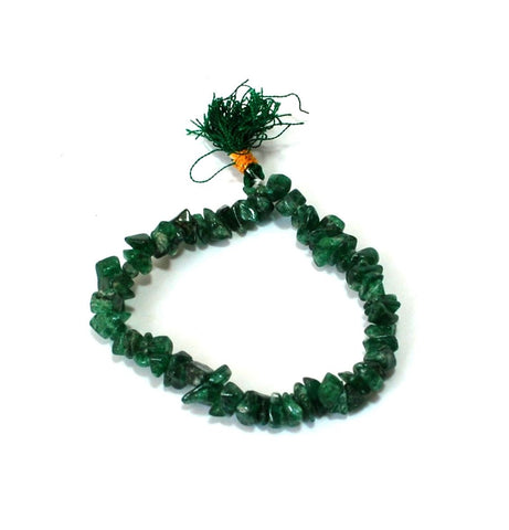 Green Aventurine Crystal Chips Power Bracelet Reiki - Krystal Gifts UK
