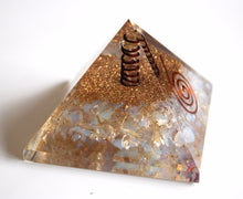 Load image into Gallery viewer, Large Opalite Orgone Crystal Pyramid