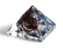 Load image into Gallery viewer, Sodalite Crystal Stone Orgone Pyramid