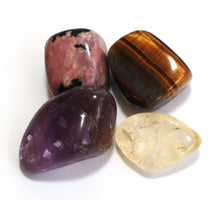Load image into Gallery viewer, Solar Plexus Chakra Crystal Tumble Stone Healing Set (Beautifully Gift Wrapped)