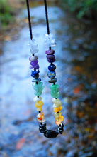 Load image into Gallery viewer, New! Chakra New Crystal Necklace Including Seven Types