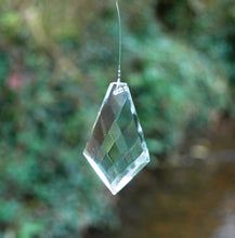 Load image into Gallery viewer, Feng Shui Hanging Crystal Prism Reflects Colours Of The Rainbow