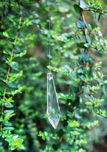 Load image into Gallery viewer, Long Feng Shui Hanging Prism Crystal Reflects Rainbow Sun Catcher