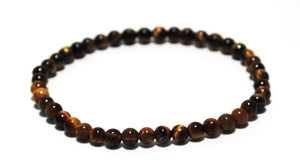 New! Tigers Eye Polished Natural Beads Bracelets