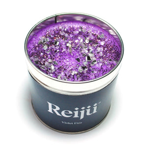 New! 'Violet Fizz' Purple Luxury Candle Fragranced with Cassis, May Rose, Lily and Vanilla