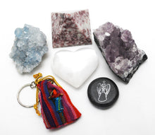 Load image into Gallery viewer, New Special Offer! Natural Healing Crystals 'Worry' Gift Set Box
