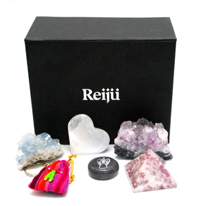 New Special Offer! Natural Healing Crystals 'Worry' Gift Set Box