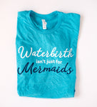 Waterbirth Teal Crew Unisex