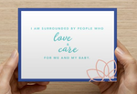 Birth Affirmation Postcards for Expecting Parents