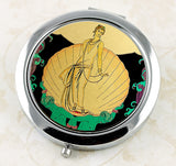 Art Deco Aphrodite Compact from DecorativeDesignWorks.com