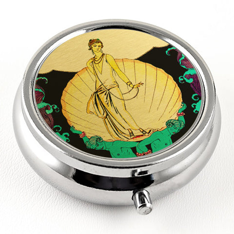 Art Deco Pill Box from DecorativeDesignWorks.com