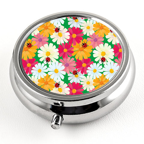 April Daisies Pill Box from DecorativeDesignWorks.com