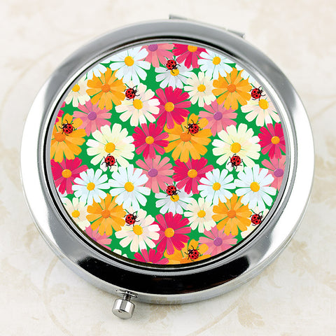 Our April Daisies Compact Mirror is the perfect gift for an April Girl!