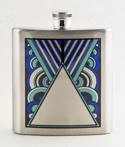 Art Deco Stainless Flask from DecorativeDesignWorks.com