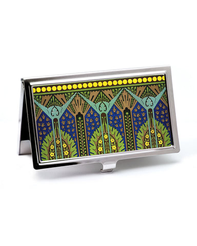 Egyptian Revival Art Deco Business Card Case
