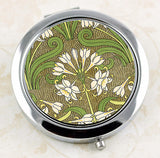 Art Nouveau Jonquil Compact Mirror by DecorativeDesignWorks.com