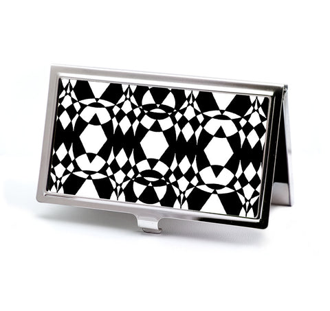 60's style Op Art Business Card Case from DecorativeDesignWorks.com