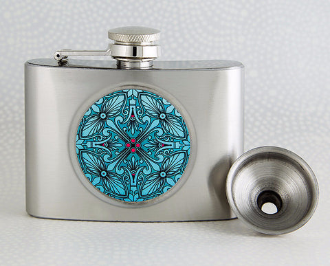 Vintage Style Mini Flask from DecorativeDesignWorks.com