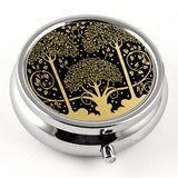 Art Nouveau Trees Pill Box from DecorativeDesignWorks.com