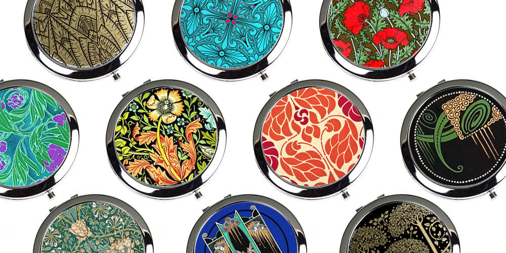 Vintage Style Compact Mirrors from Decorative Design Works