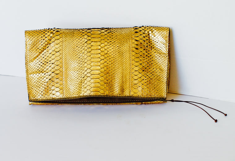 Foldover Pouch Clutch