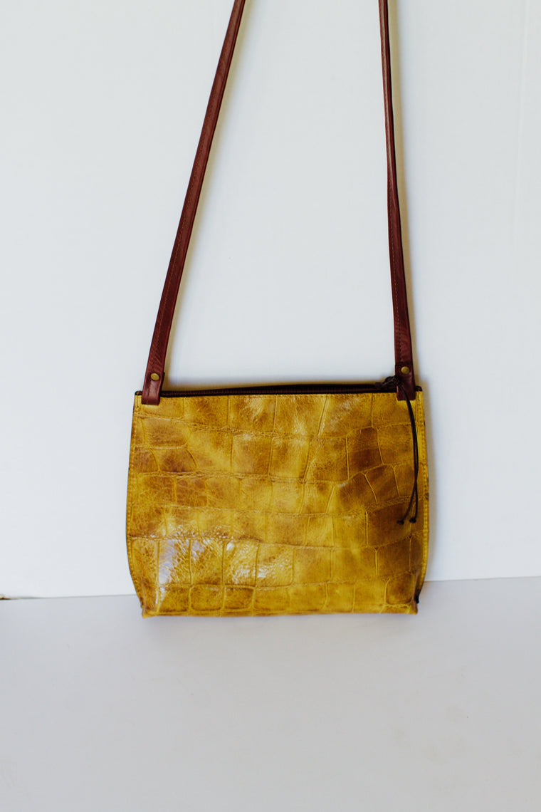 Large Strappy Crossbody Handbag
