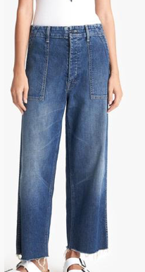 Patch Pocket Private Ankle Jeans