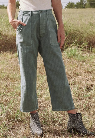 The Herringbone Trooper Pant