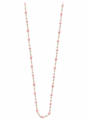 Baby Pink 16.5 and 17.7 Necklace