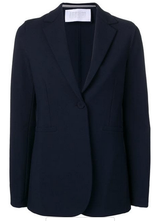 Harris Wharf London  one button fitted blazer