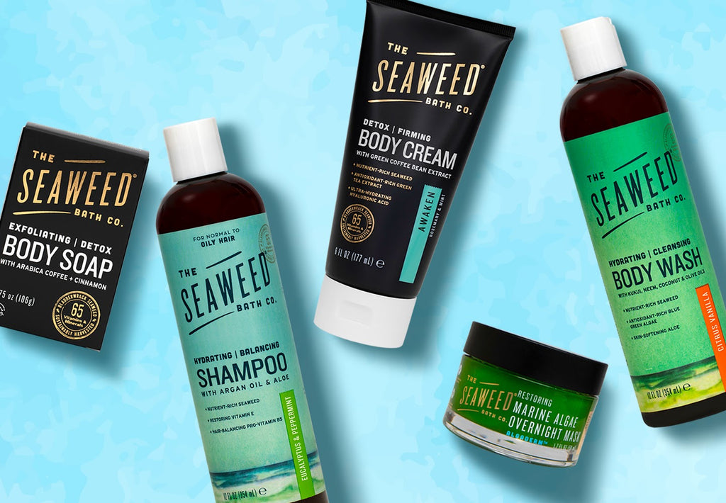 Ocean Inspired Personal Care Seaweed Products The Seaweed Bath Co