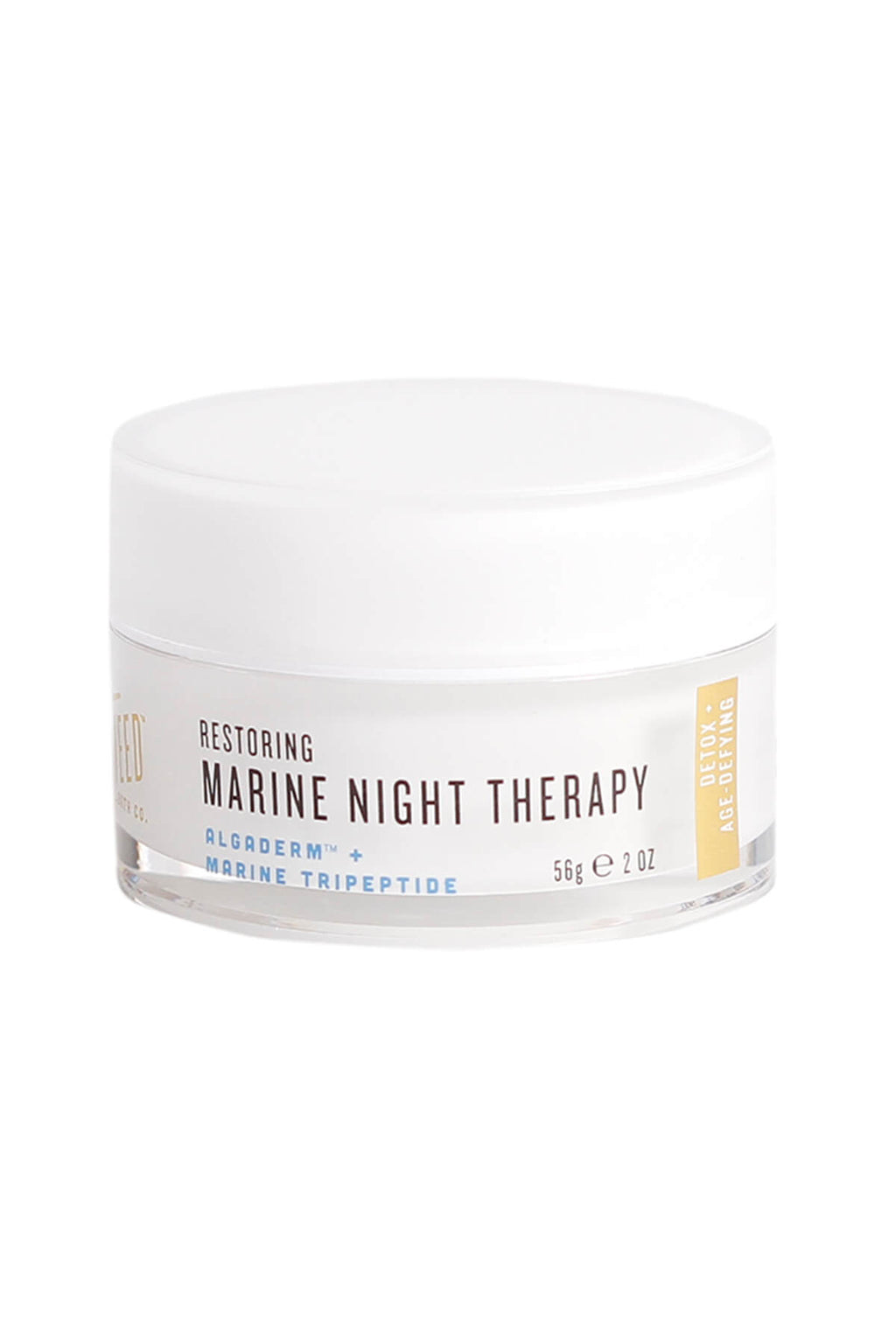 Front of Restoring Marine Night Therapy Jar
