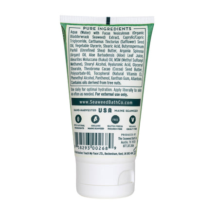 Back of Hydrating | Soothing Body Cream in Unscented Mini Tube