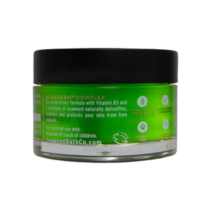 Side of Restoring Marine Algae Overnight Mask Jar