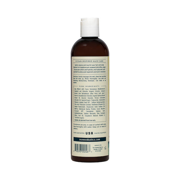 Back of Hydrating | Moisturizing Conditioner in Unscented Bottle
