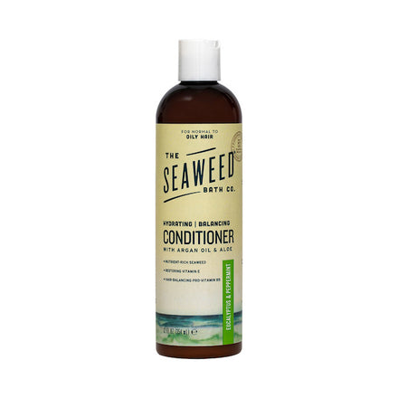 Front of Hydrating | Balancing Conditioner in Eucalyptus & Peppermint Bottle