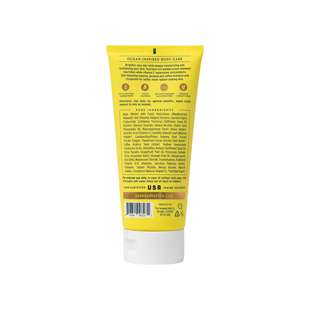 Uplift (Grapefruit + Orange) Energizing Body Cream